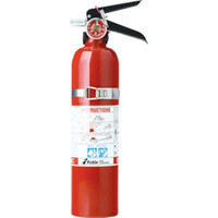 Kidde 2.75 lb BC Automotive FC10M Extinguisher w/ Plastic Bracket w/ Metal Strap (Rechargeable) - 466422K