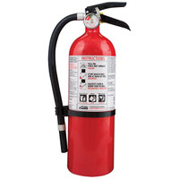 Kidde 5 lb ABC Automotive FC340M-VB Extinguisher w/ Metal Strap Bracket - 466425K