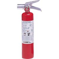 Kidde Pro Plus™ 2 1/2 lb Halotron I™ Fire Extinguisher w/ Metal Strap Bracket - 466727K