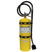 Amerex® 30 lb Sodium Chloride Extinguisher w/ Brass Valve & Wall Hook - 70
