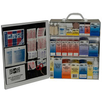 3-Shelf, 75-Person, 493-Pc Industrial First Aid Station - 6155