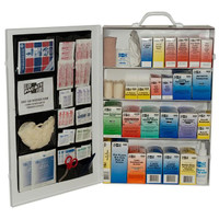 4-Shelf, 100-Person, 760-Pc Industrial First Aid Station - 6175