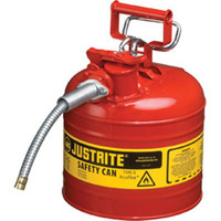 "Type II Safety Can, 2 gal, 5/8"" Hose, Red - 7220120"