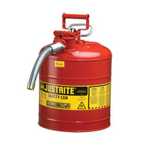 "Type II Safety Can, 5 gal, 5/8"" Hose, Red - 7250120"