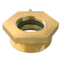 Female x Male Brass Hexagon Bushing - 751