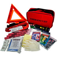 Orion Safety® Deluxe Roadside Emergency Kit - 8901