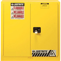 Sure-Grip® EX 40 Gal Yellow Safety Cabinets for Combustibles, Manual Doors - 893010