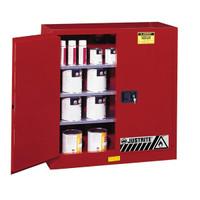 Sure-Grip® EX Class III Paint Storage Cabinet, 40 gal, Manual Doors - 893011