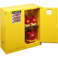 "Sure-Grip® EX Safety Cabinets w/ Self-Closing Doors, 30 gal, 44""H x 43""W x 18""D - 893020"