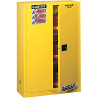 "Sure-Grip® EX Safety Cabinet w/ Manual Doors, 45 gal, 65""H x 43""W x 18""D - 894500"