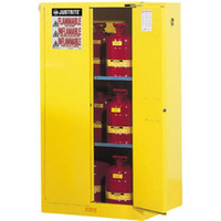 "Sure-Grip® EX Safety Cabinets w/ Self-Closing Doors, 90 gal, 65""H x 43""W x 34""D - 899020"