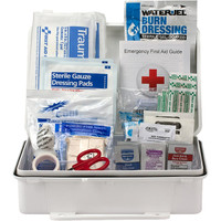 25-Person, 89-Pc ANSI A Weatherproof First Aid Kit, Plastic - 90562