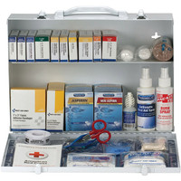 2-Shelf, 75-Person, 336-Pc ANSI A+ First Aid Station - 90572