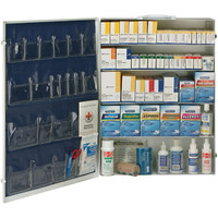 5-Shelf, 200-Person, 2129-Pc ANSI B+ First Aid Station - 90577