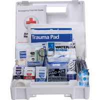 25-Person, 141-Pc ANSI A+ First Aid Kit, Plastic - 90589