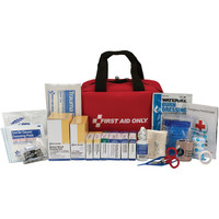 50-Person, 225-Pc ANSI A+ First Aid Kit, Soft Pouch - 90599