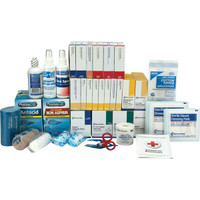 3-Shelf, 675-Pc ANSI B+ First Aid Station Refill (For 90575) - 90623