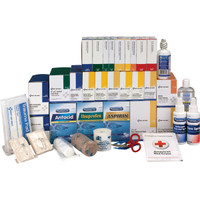 4-Shelf, 1437-Pc ANSI B+ First Aid Station Refill (For 90576AC) - 90625