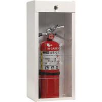 "Metal Extinguisher Cabinet, 25 3/4""H x 9 1/2""W x 6 1/4""D - 926LS"