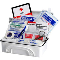 10-Person, 96-Piece Contractor First Aid Kit (Plastic) - 930010P