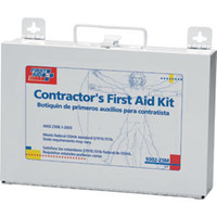 25-Person, 179-Piece Contractor First Aid Kit (Metal) - 930225M