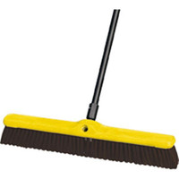 "Heavy-Duty Floor Sweep, Polypropylene & Polystyrene Fill (24"") - 9B1700MA"