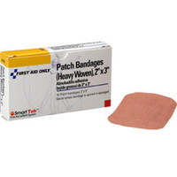 "Bandage, Fabric 2"" x 3"" Patch (10/Box) - A177"