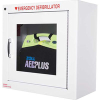 Zoll AED Metal Wall Cabinet w/ Alarm - 8000-0855