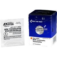 BZK Antiseptic Towelettes (10/Box) - FAE4002