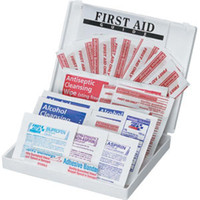 34-Piece All-Purpose First Aid Kit (Plastic Case) - FAO112