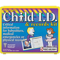 13-Piece Child ID & Records Kit (Plastic Case) - FAO185