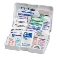 41-Piece Auto First Aid Kit (Plastic Case) - FAO320