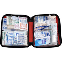 187-Piece Emergency First Aid Kit w/Softpack Case - FAO452