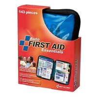 143-Piece Auto First Aid Kit (Softpack Case) - FAO552