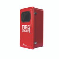 "Fiberglass Extinguisher Cabinet, 26 1/8""H x 13 1/4""W x 9 3/4""D - FGC10BR"