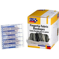 "Fingertip Fabric Bandages, 1 3/4"" x 2"", 40/Box - G126"