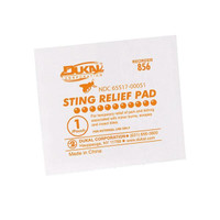 Insect Sting Relief Pads (50/Box) - G326