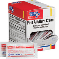 First Aid/Burn Cream, 0.9 g, 25/Box - G343