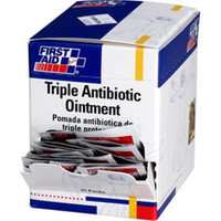 Triple Antibiotic Ointment, 0.5gm (25/Box) - G460