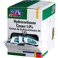 1.0% Hydrocortisone Cream, 0.9gm (25/Box) - G486