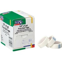 "First Aid Tape, 1/2"" x 5 yds, 20 Rolls/Box - G634"
