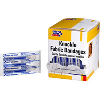 "Knuckle Fabric Bandages, 1 1/2"" x 3"", 100/Box - H125"
