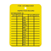 Plastic Inspection Tag (One Year Only) - PTAGBR