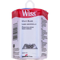 Wiss® Utility Knife Replacement Blades (100/Dispenser) - RWK14D