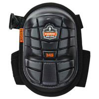 Ergodyne ProFlex 345  Black Long Cap Injected Gel Knee Pad