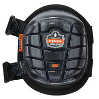 Ergodyne ProFlex 355  Black Short Cap Injected Gel Knee Pad