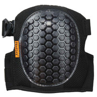 Ergodyne ProFlex 367  Black Round Cap Lightweight Gel Knee Pad