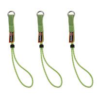 Ergodyne Squids 3703-BULK Standard Lime Elastic Loop Tool Tails Ext - 15lbs 60-Pack