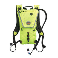 Ergodyne Chill-Its 5156 3 ltr Hi-Vis Lime Premium Low Profile Hydration Pack