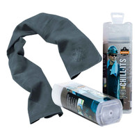 Ergodyne Chill-Its 6602  Gray Evaporative Cooling Towel